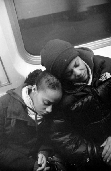 Nap on Subway